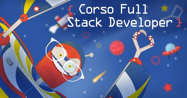 Banner del Corso Full Stack Development