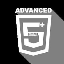 Icona del corso HTML5 avanzato + Responsive