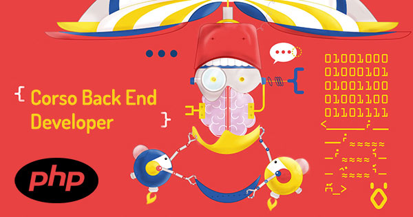 Banner del Corso Back End Developer PHP