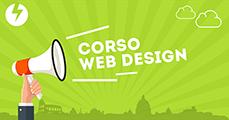 Banner promozionale del Corso Web Design