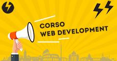 Banner promozionale del Corso Web Development